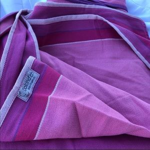 Pink Dolcino Jamaica woven wrap